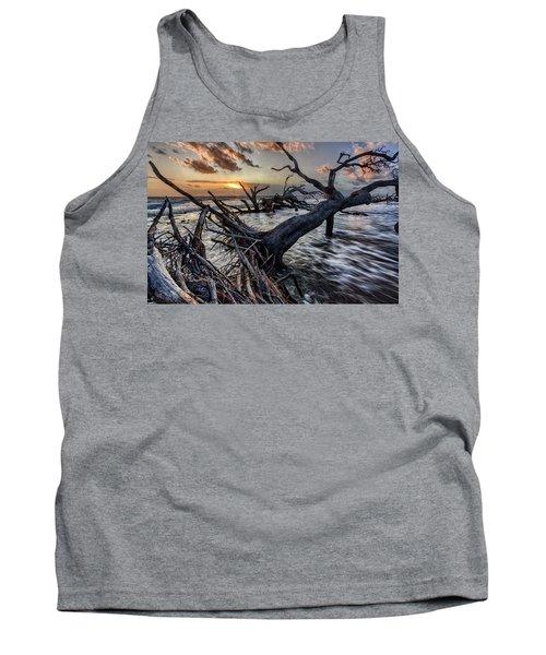Driftwood Beach 5 Tank Top