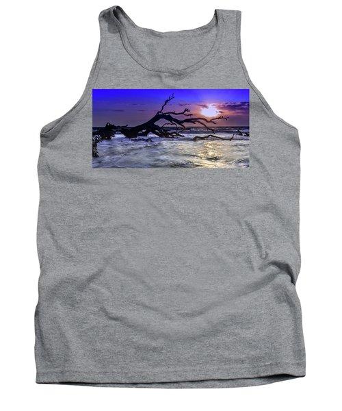 Driftwood Beach 9 Tank Top