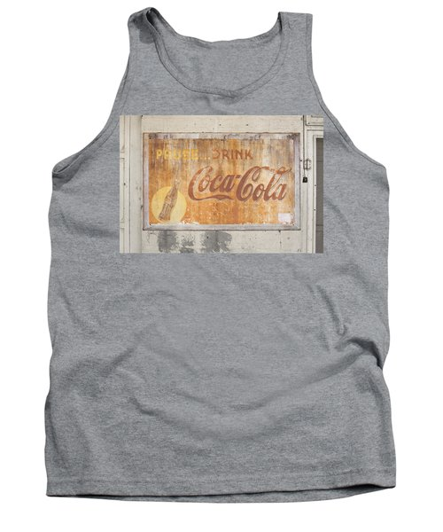 Tank Top featuring the photograph Drink Coca Cola by Mark Greenberg