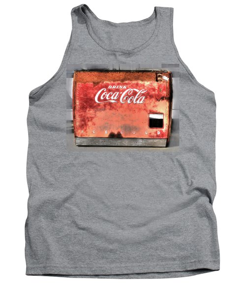 Drink Ice Cold Coca Cola Tank Top