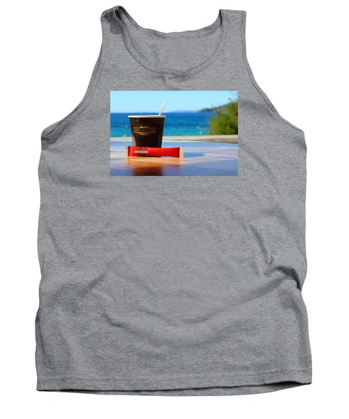Tank Top featuring the photograph Drink It In by Richard Patmore