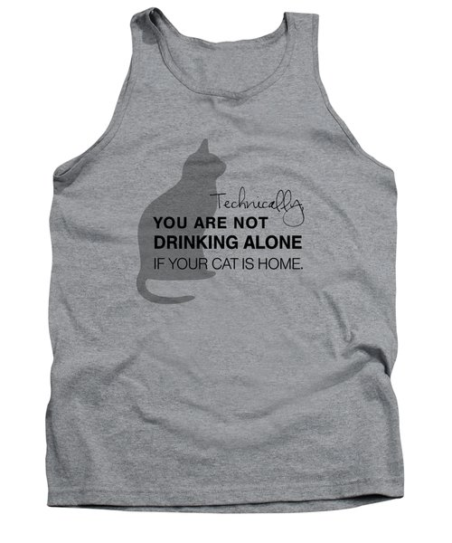 Drinking With Cats Tank Top