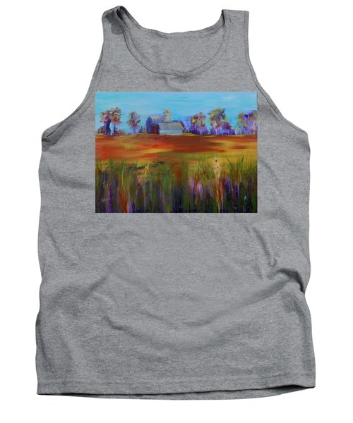 Drive-by View Tank Top by Terri Einer