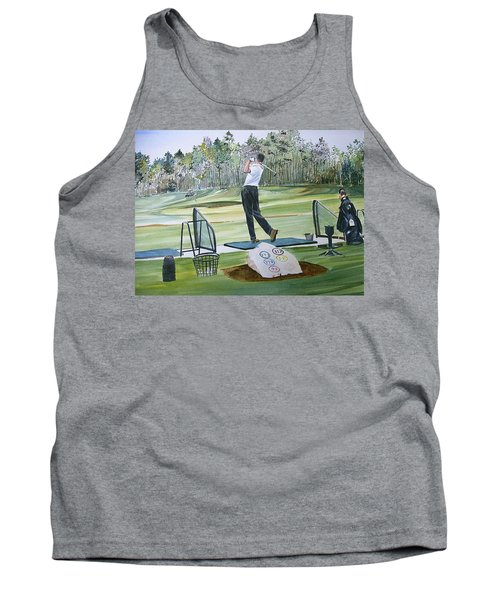 Driving Pine Hills Tank Top by P Anthony Visco