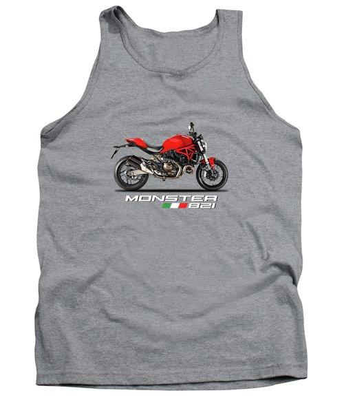 Ducati Monster 821 Tank Top by Mark Rogan