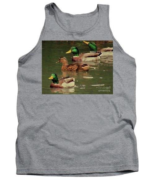 Ducks Race Tank Top
