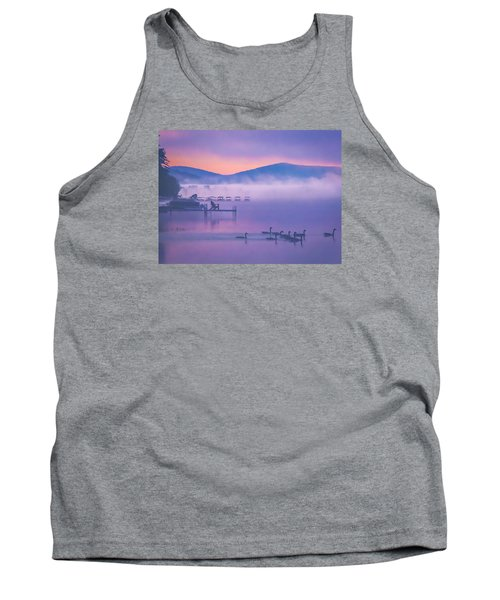 Ducks Under Fog Tank Top