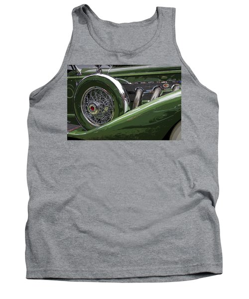 Tank Top featuring the photograph Duesenberg by Jim Mathis