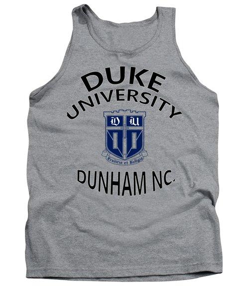 Duke University Dunham N C  Tank Top by Movie Poster Prints