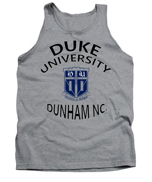 Duke University Dunham N C  Tank Top