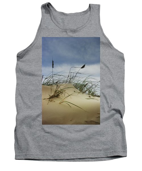 Dune And Beach Grass Tank Top by Randall Nyhof