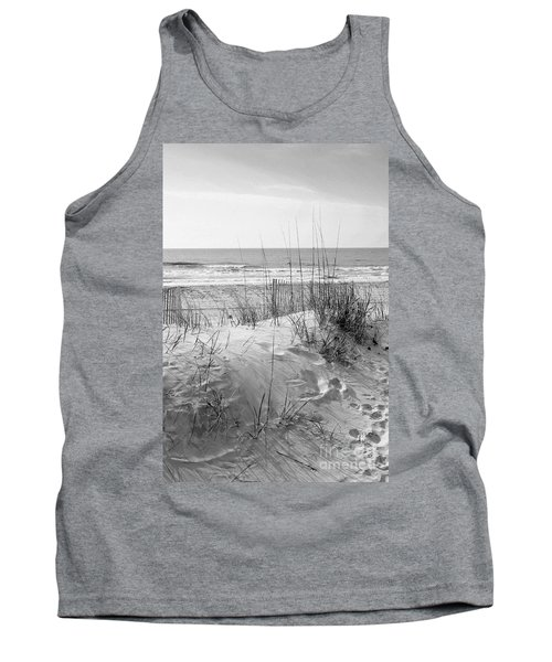 Dune - Black And White Tank Top