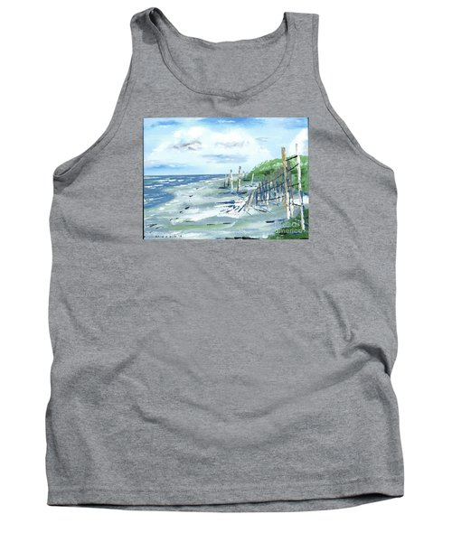 Dune Fences Isle Of Palms Tank Top
