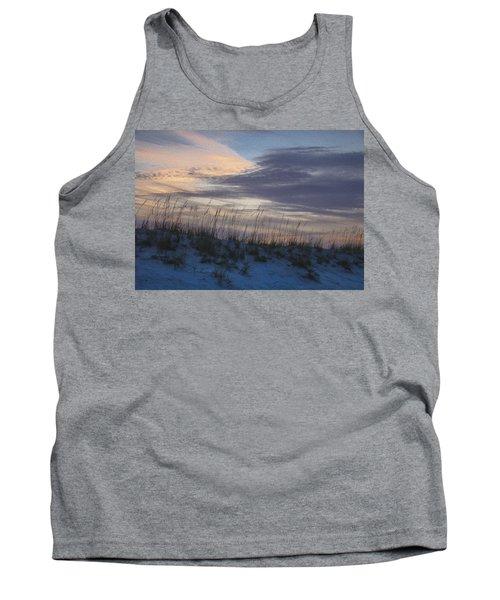 Dune Grass Blue Tank Top