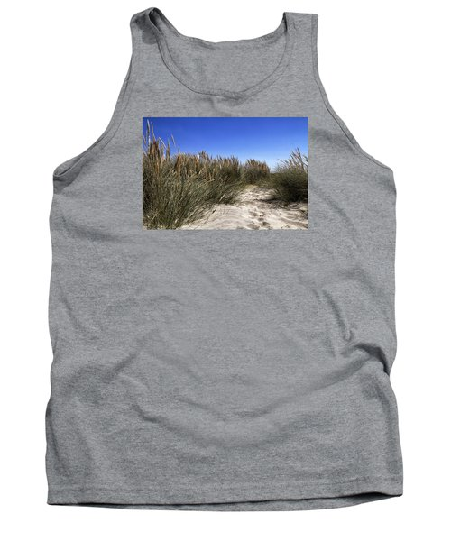 Dune Grasses Tank Top by Shirley Mitchell