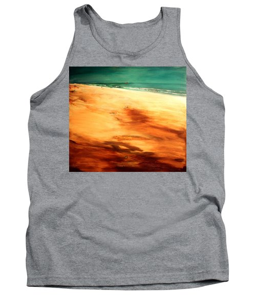 Tank Top featuring the painting Dune Shadows by Winsome Gunning