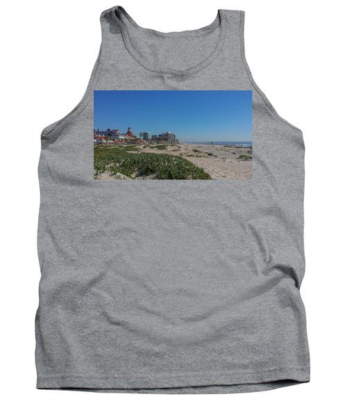 Dunes At The Del Tank Top by Mark Barclay