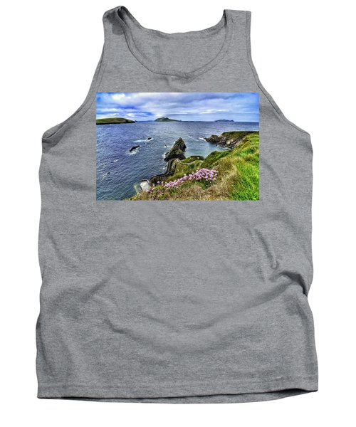 Dunquin Flowers  Tank Top