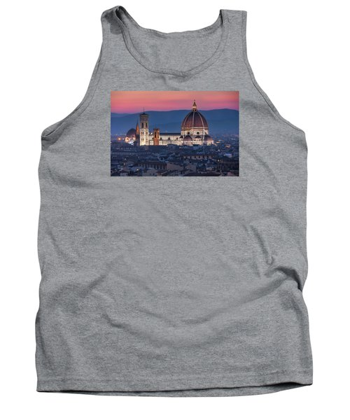 Tank Top featuring the photograph Duomo Di Firenze by Brent Durken