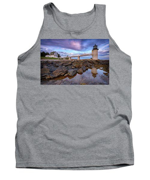 Tank Top featuring the photograph Dusk At Marshall Point by Rick Berk