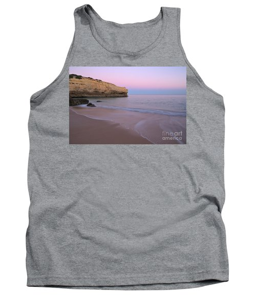 Dusk In Albandeira Beach Tank Top by Angelo DeVal