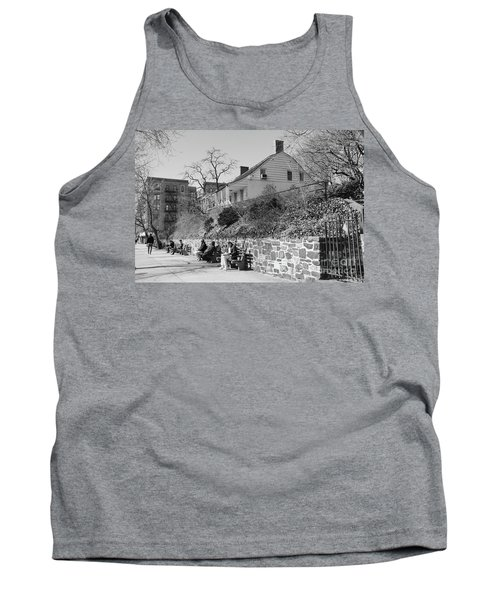 Tank Top featuring the photograph Dyckman Farmhouse  by Cole Thompson