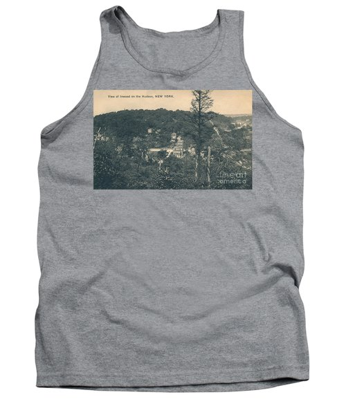 Dyckman Street At Turn Of The Century Tank Top by Cole Thompson