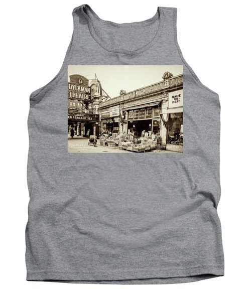 Tank Top featuring the photograph Dyckman Theater, 1926 by Cole Thompson