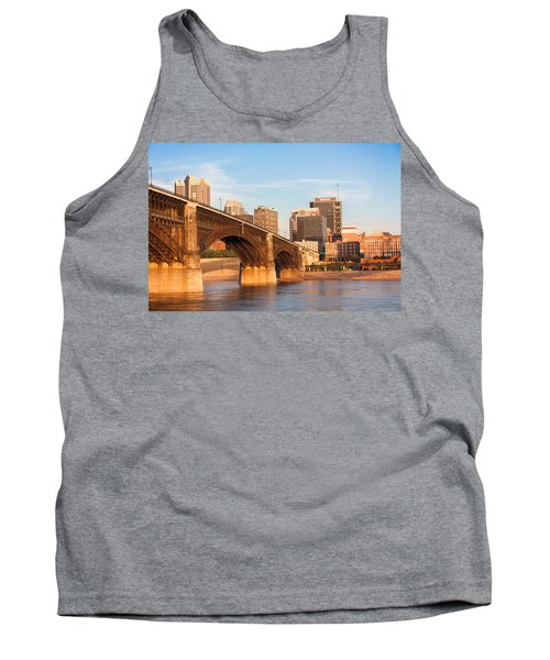 Eads Bridge At St Louis Tank Top