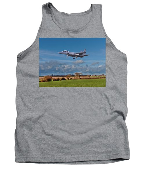 Tank Top featuring the photograph Eagle On Finals by Paul Gulliver