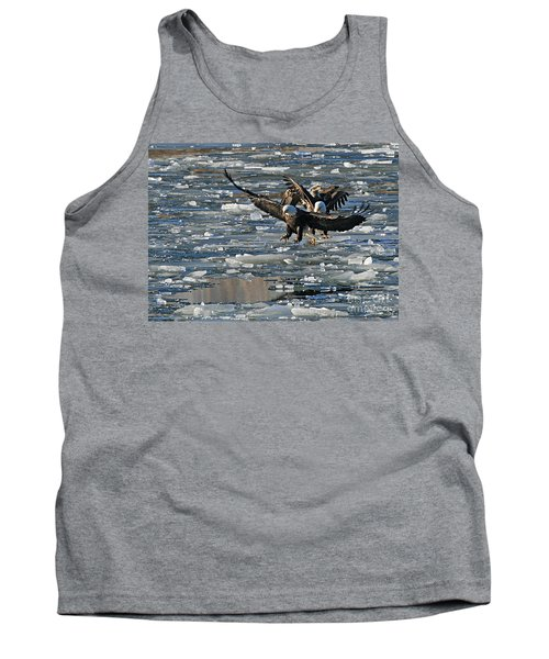 Eagles On Ice Tank Top