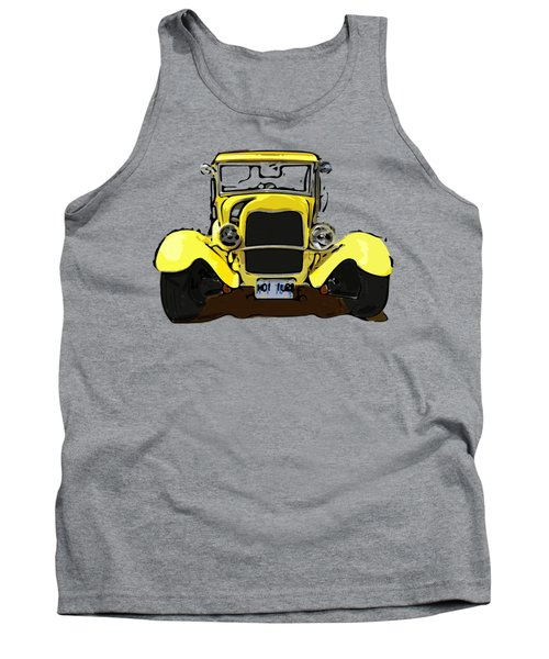 Early 1930s Ford Yellow Tank Top
