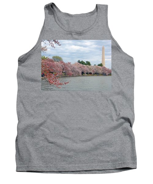 Early Arrival Of The Japanese Cherry Blossoms 2016 Tank Top