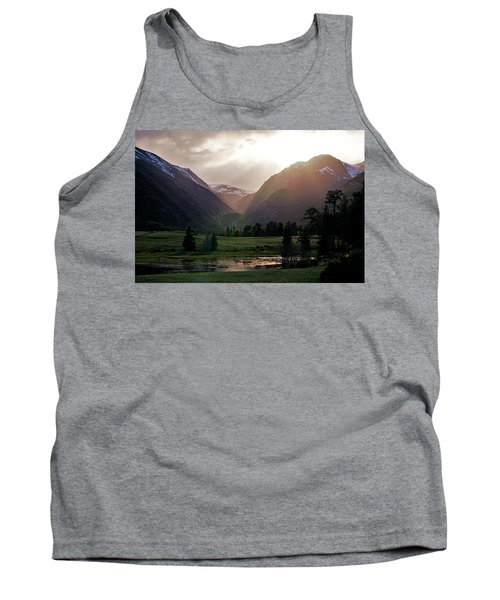 Early Evening Light In The Valley Tank Top