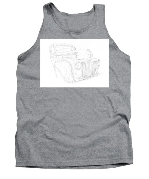 Early Ford Truck Tank Top
