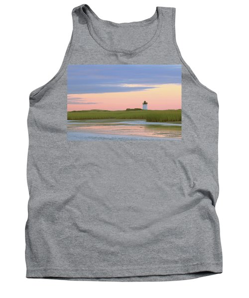 Early Light At Wood End Light Tank Top by Roupen  Baker