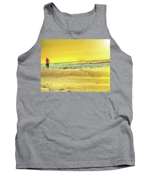 Early Morning Beach Walk Tank Top