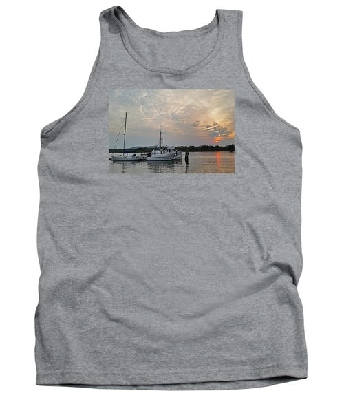 Tank Top featuring the photograph Early Morning Calm by Suzy Piatt