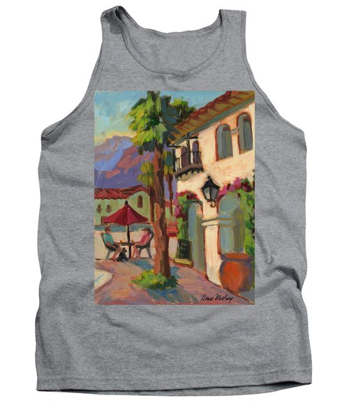Early Morning Coffee At Old Town La Quinta Tank Top