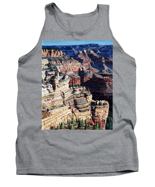 Early Morning From The South Rim Tank Top