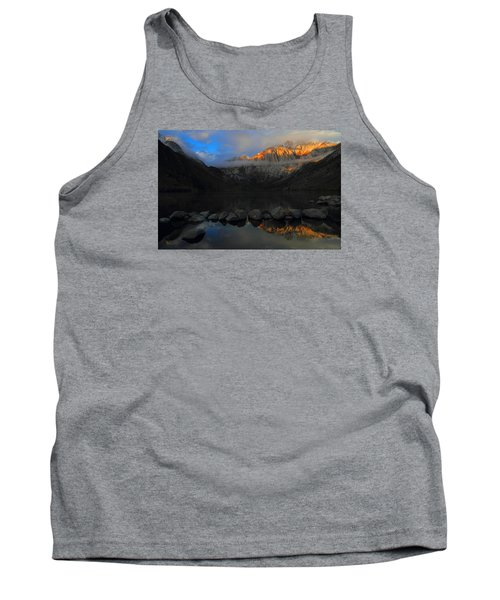 Early Morning Light At Convict Lake In The Eastern Sierras Tank Top