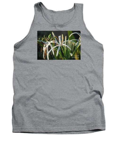 Early Morning Lily Tank Top by LeeAnn Kendall