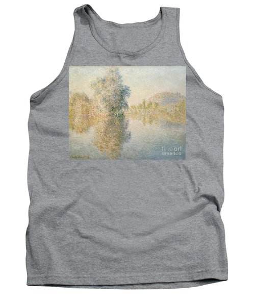 Early Morning On The Seine At Giverny Tank Top