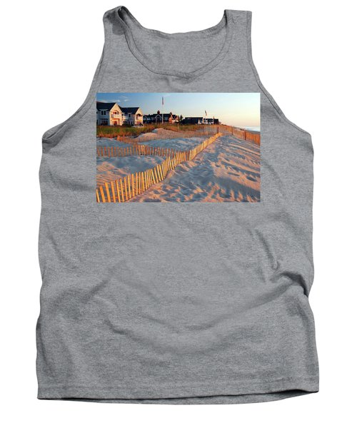 Early Morning On The Shore Tank Top