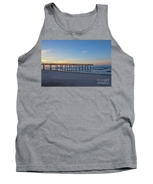 Early Morning Pier Tank Top