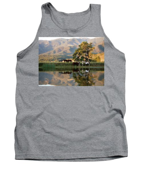 Early Morning Rendezvous Tank Top