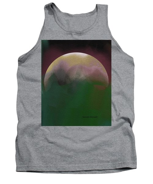 Earth And Moon Tank Top by Lenore Senior