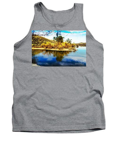 East Bay, Canyon Lake, Ca Tank Top