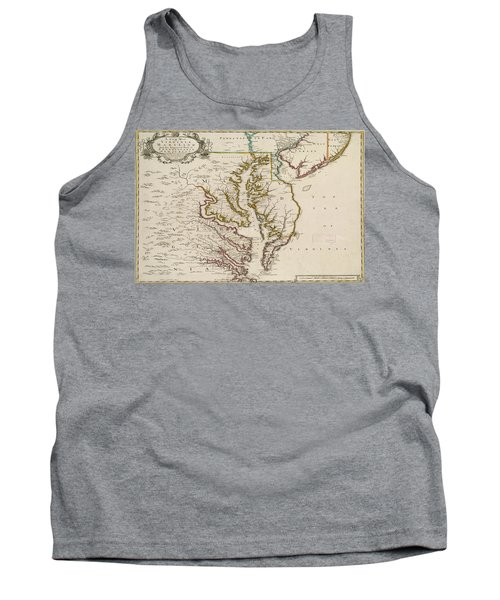Tank Top featuring the painting East Coast History by Harry Warrick