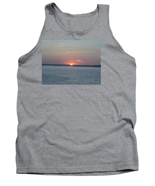 Tank Top featuring the photograph East Cut by Newwwman
